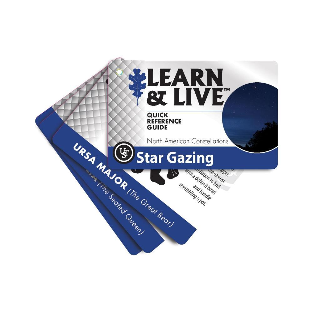 Ultimate Survival Technologies Learn & Live Cards - Star Gazing  BLUWHT