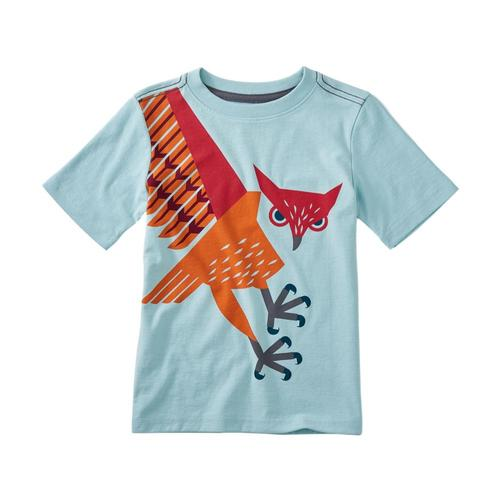 Tea Collection Kids Owl Graphic Tee