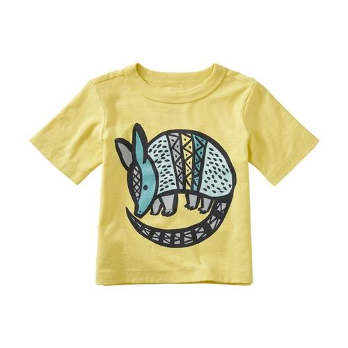 Tea Collection Infant Armadillo Graphic Baby Tee