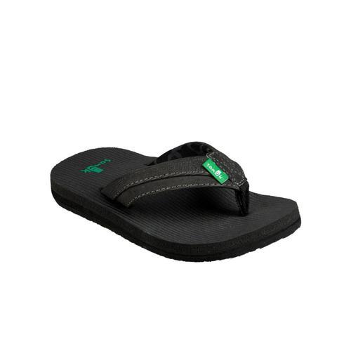 Sanuk Youth Rootbeer Cozy Light Flip Sandals Black