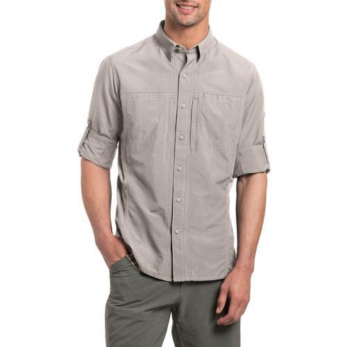 KUHL Men's Invoke Long Sleeve Shirt Sanddune