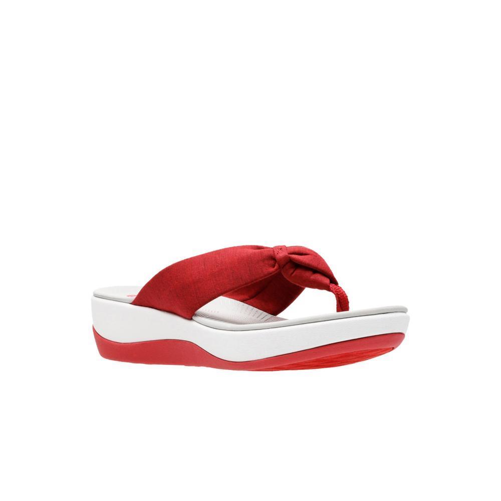 Clarks Women's Arla Glison Flip Sandals REDHTHR