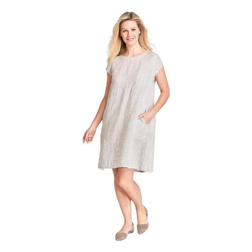 FLAX Women's Tuck Back Dress