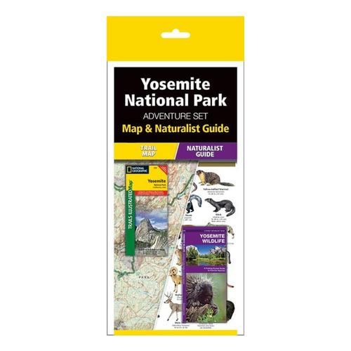 Yosemite Adventure Set: Map & Naturalist Guide by Waterford Press and National Geographic Maps