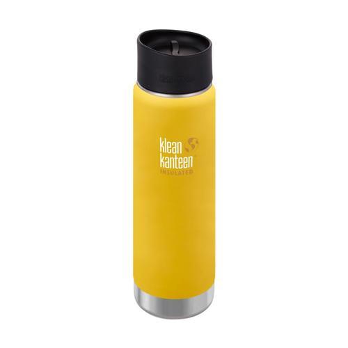 Klean Kanteen Wide Insulated Bottle w/Cafe Cap - 20oz Lemon_curry