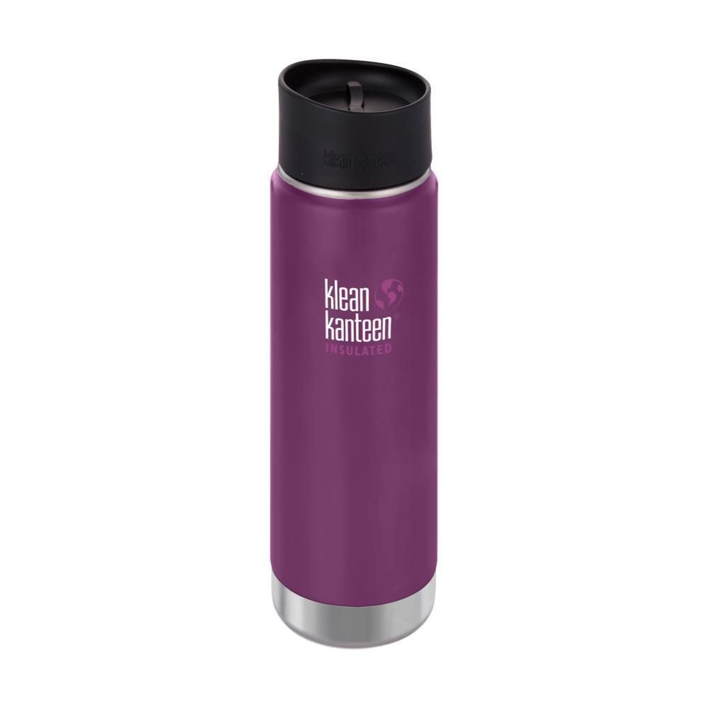 Klean Kanteen Wide Insulated Bottle w/Cafe Cap - 20oz WINTER_PLUM