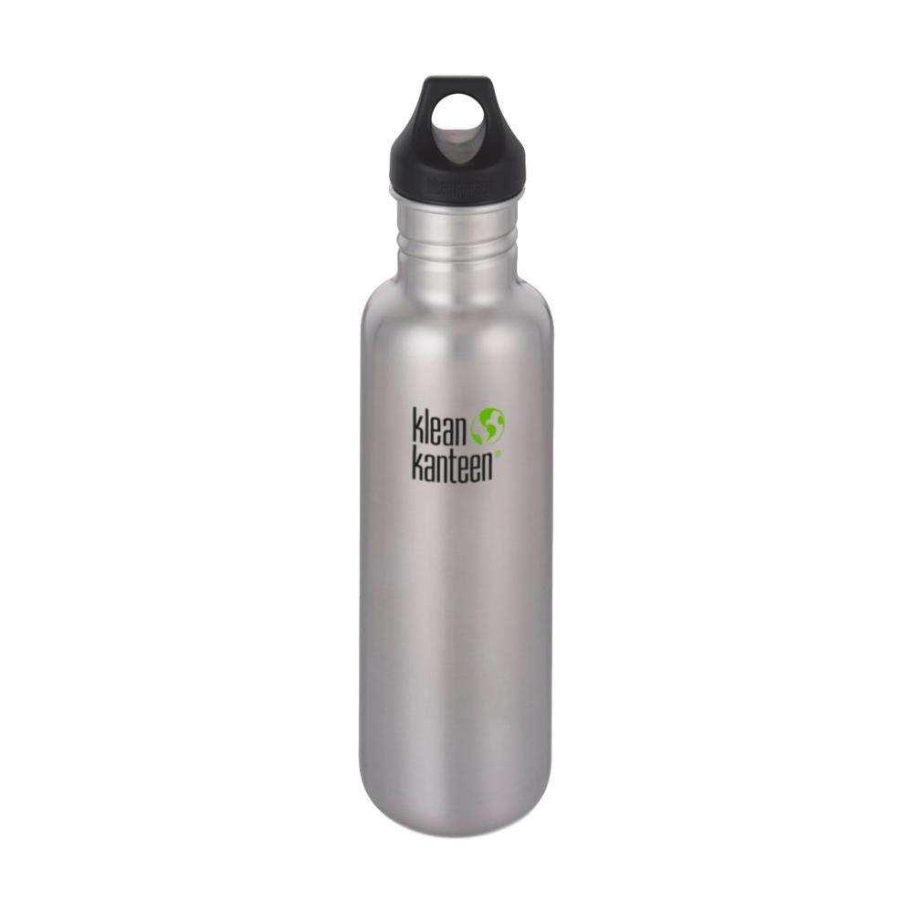 Klean Kanteen Classic Bottle w/Loop Cap - 27oz BRUSHED.STNLS