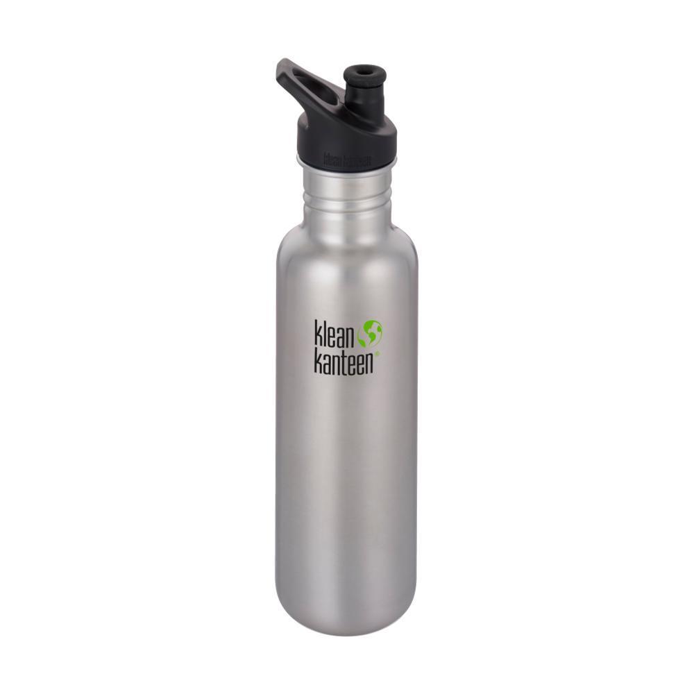 Klean Kanteen Classic Bottle w/Sport Cap 3.0 - 27oz BRSHD.STNLS