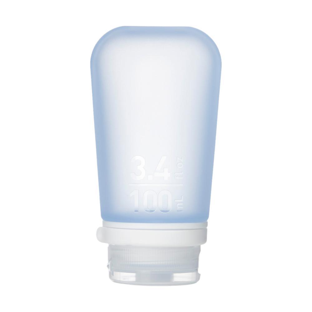Humangear GoToob+ 3.4oz Silicone Bottle BLUE