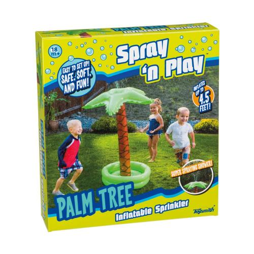 Toysmith Spray N Play Palm Tree Sprinkler