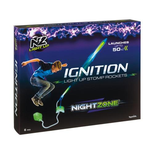 Toysmith NiteZone Ignition Light Up Stomp Rocket