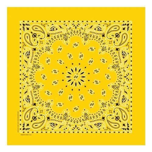 Bandanna Company Paisley Bandanna Lemon