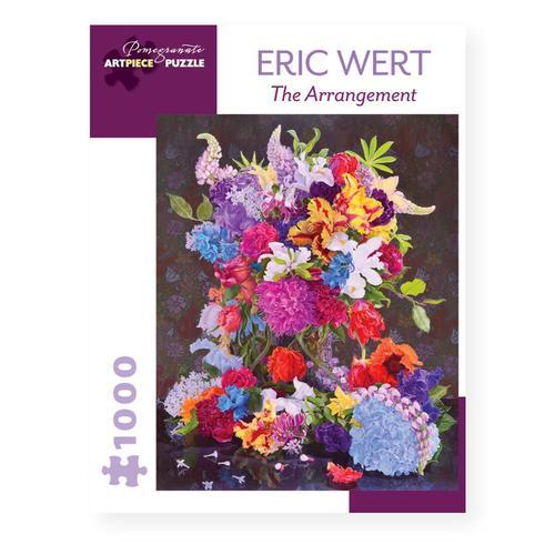Pomegranate Eric Wert: The Arrangement 1000-Piece Jigsaw Puzzle