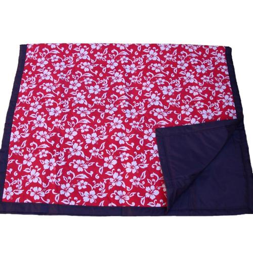 Tuffo Red Hawaii Water Resistant Outdoor Blanket