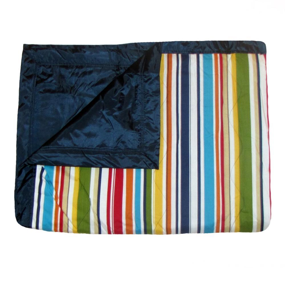 Tuffo Multi-color Stripe Water Resistant Outdoor Blanket STRIPED
