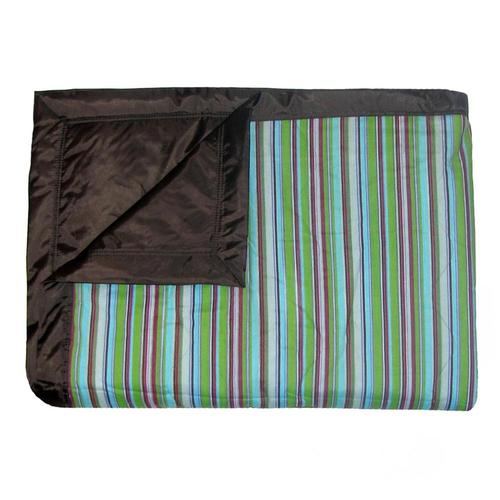 Tuffo Earth Stripe Water Resistant Outdoor Blanket