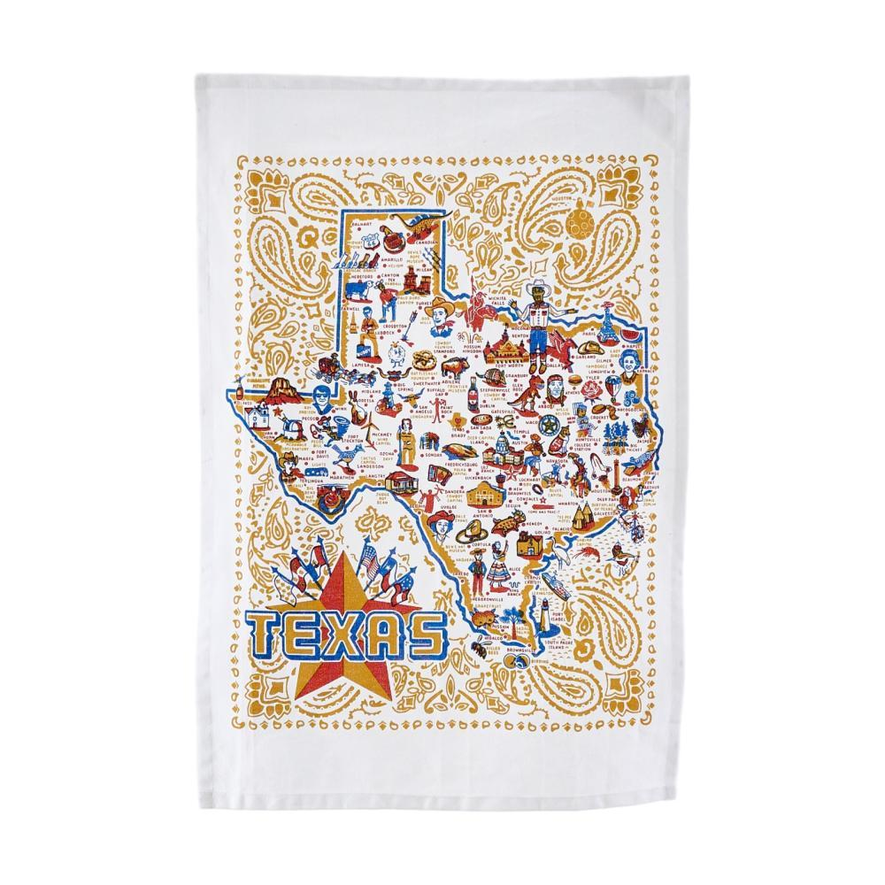 One Hundred 80 Degrees Texas Dish Towel