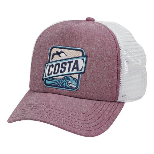 Costa Chambray Trucker Hat