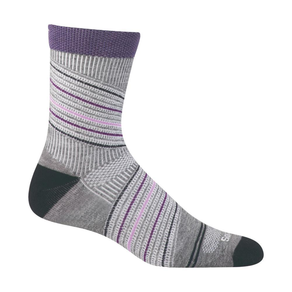 Sockwell Women's Summit Crew Firm Compression Socks GREY800