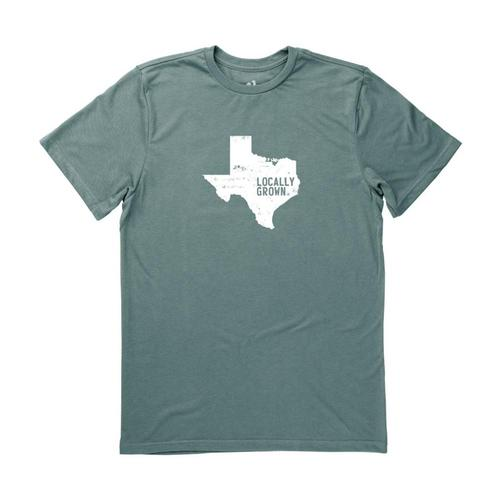 Locally Grown Unisex Texas Solid State Tee