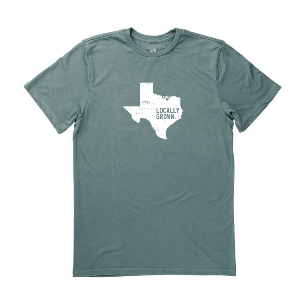 Locally Grown Unisex Texas Solid State Tee FOREST