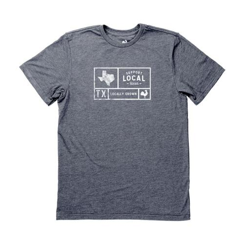 Locally Grown Unisex Texas Support Your State Tee