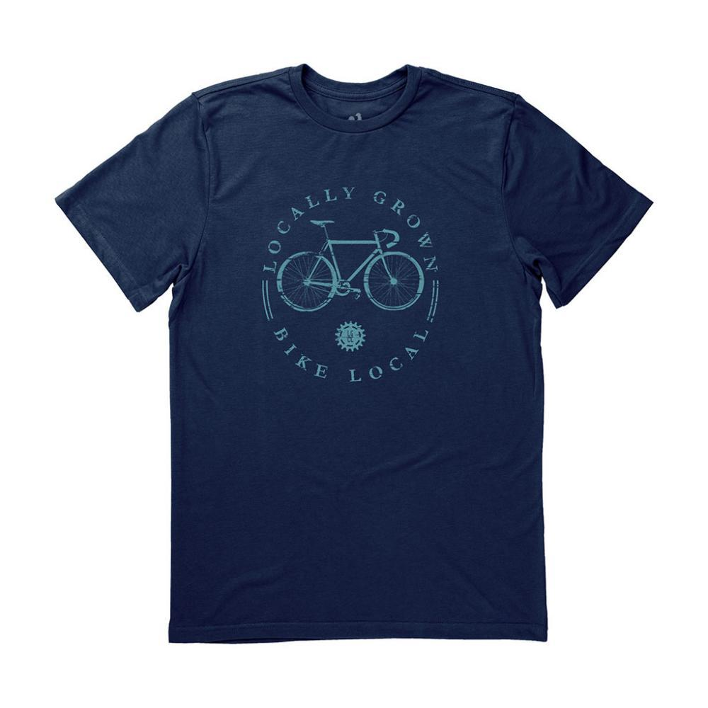 Locally Grown Unisex Bike Local Tee MIDNIGHT