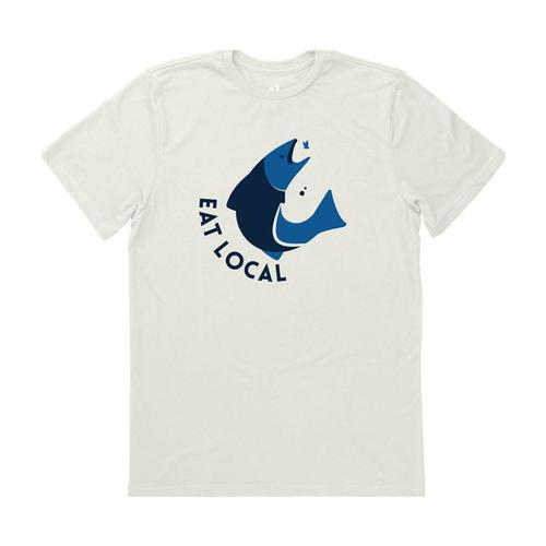 Locally Grown Unisex Eat Local on the Fly Tee