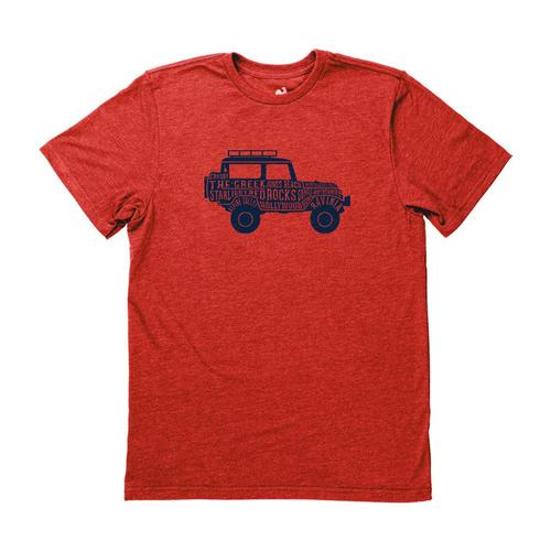 Locally Grown Unisex Festival Road Trip Tee