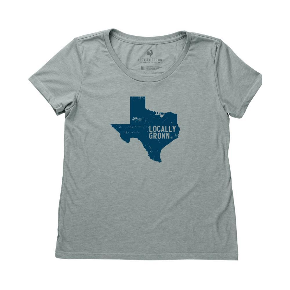 Locally Grown Women's Texas Solid State Tee GLADE