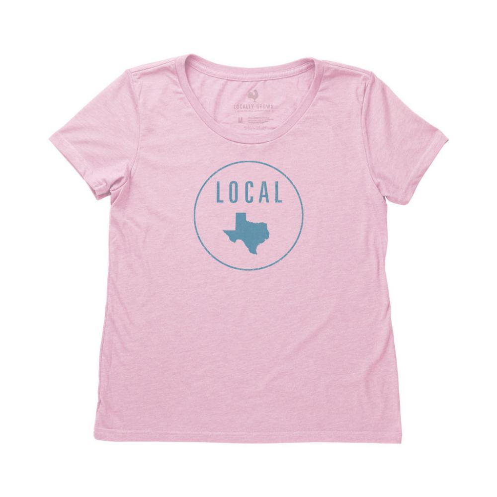 Locally Grown Women's Texas Local Tee QUARTZ