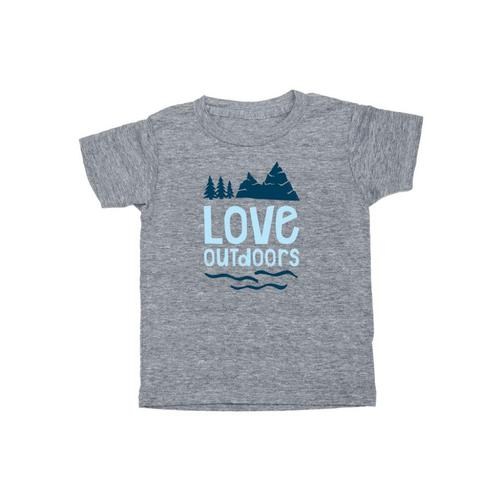 Locally Grown Kids Love Outdoors Tee