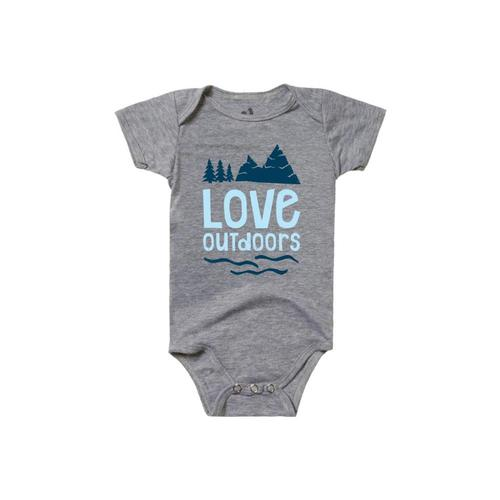 Locally Grown Infant Love Outdoors Onesie