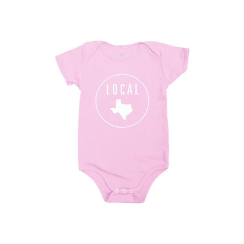 Locally Grown Infant Texas Local Onesie