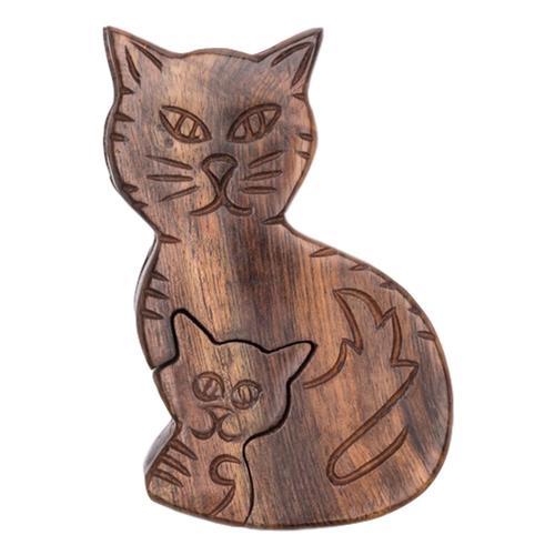 Matr Boomie Mama Cat Puzzle Box