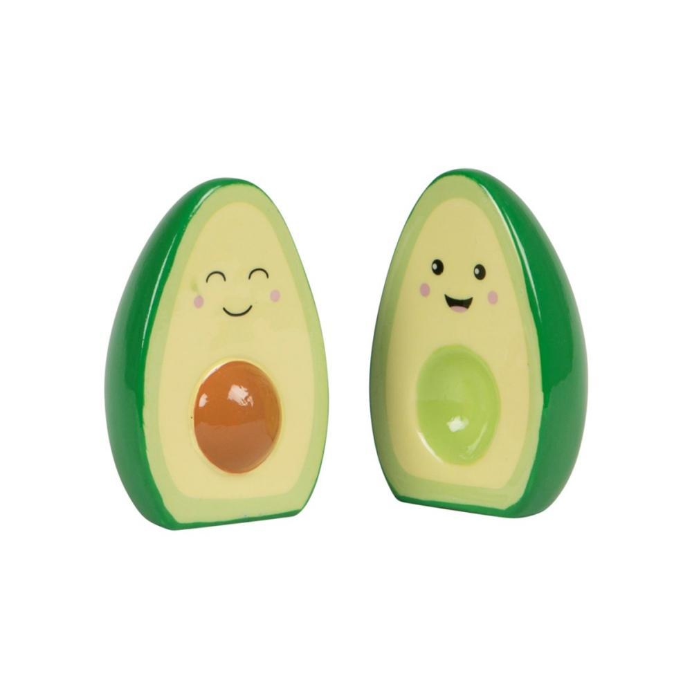 Sass And Belle Happy Avocado Salt And Pepper Set