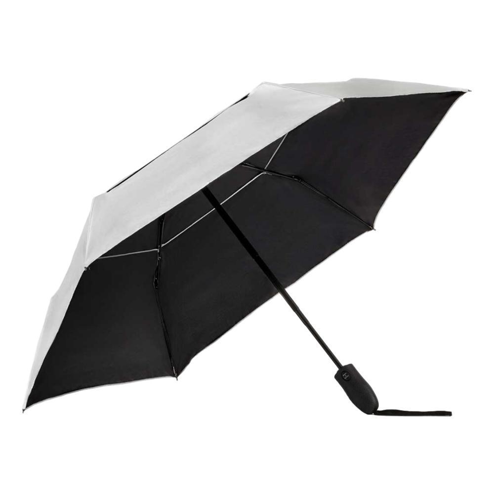 ShedRain ShedRays Auto Open Auto Close Compact Umbrella with UPF 50+ Sun Protection SILVER