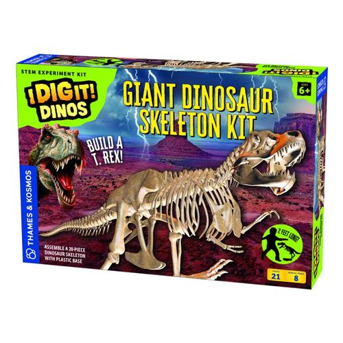 Thames and Kosmos I Dig It! Dinos-Giant Dinosaur Skeleton Kit