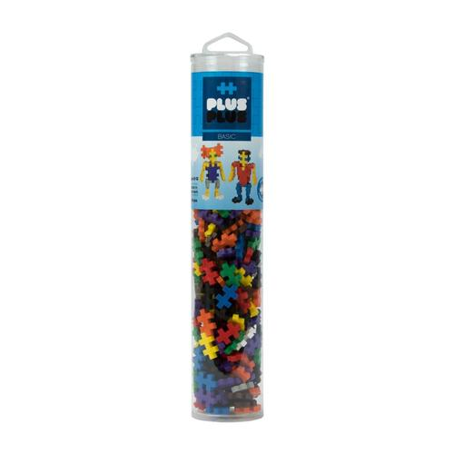 Plus-Plus Open Play Tube - 240 Piece Basic Mix 240pc