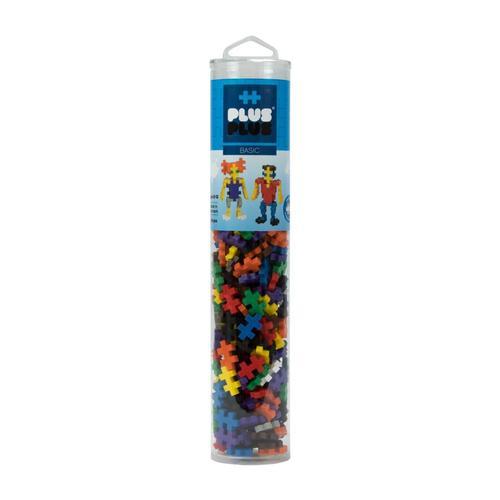Plus-Plus Open Play Tube - 240 Piece Basic Mix 240pc