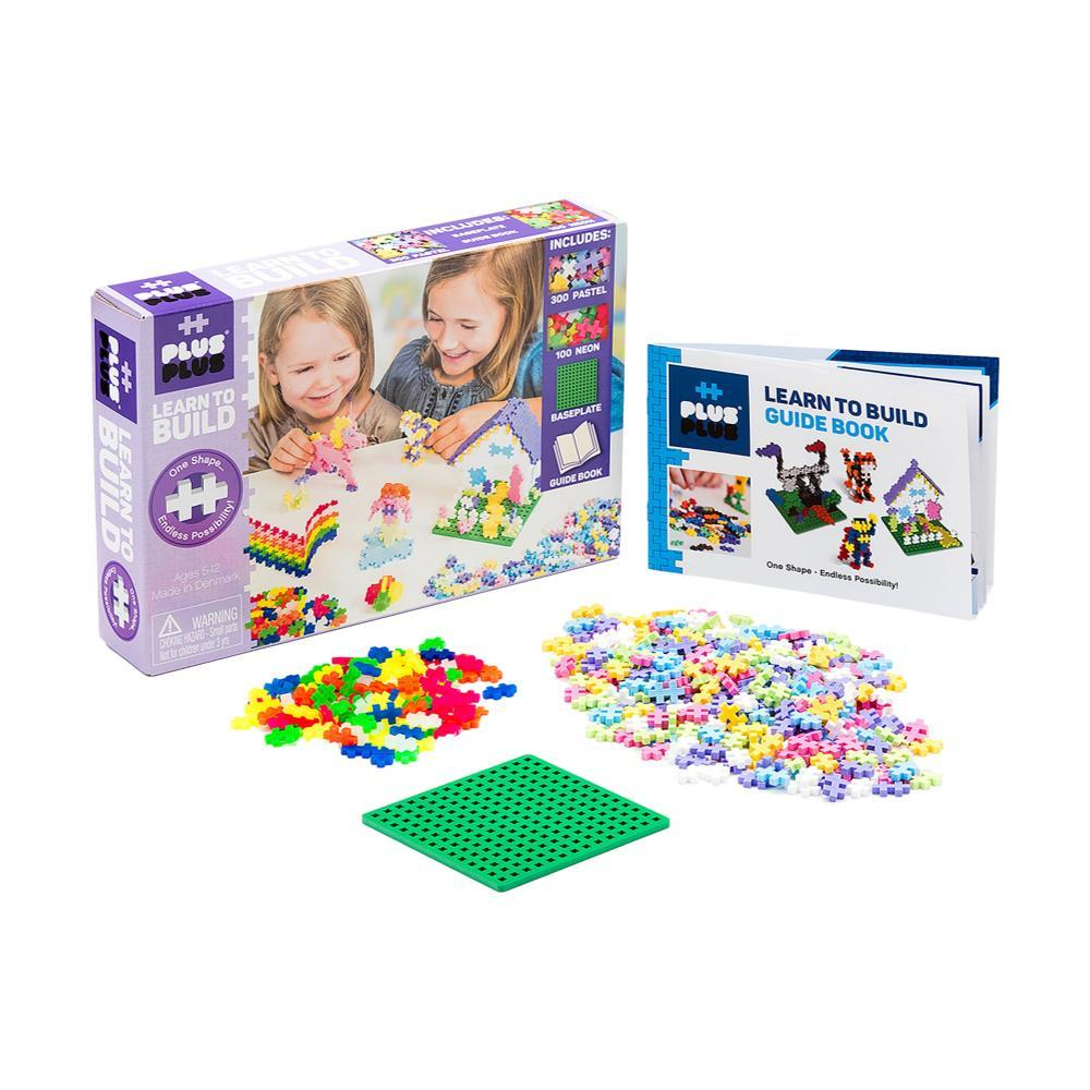 Plus- Plus 600 Learn To Build - Pastel