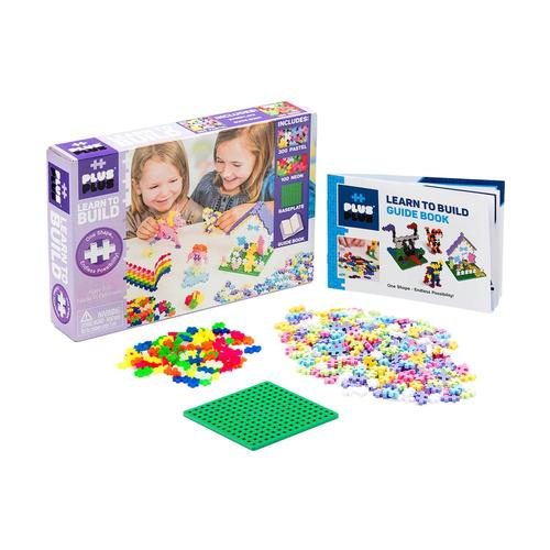 Plus-Plus 600 Learn to Build - Pastel
