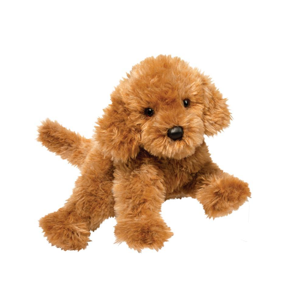 Douglas Toys Addie Caramel Labradoodle Stuffed Animal
