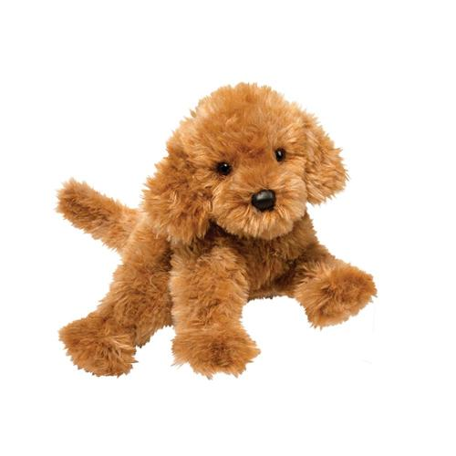 Douglas Toys Addie Caramel Labradoodle Stuffed Animal