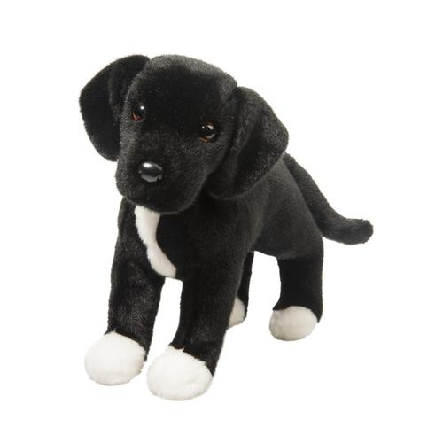 Douglas Toys Twister Black Lab & Pit Bull Mix Stuffed Animal