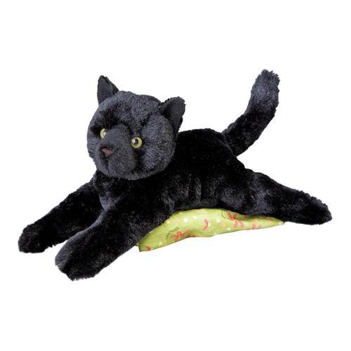 Douglas Toys Tug Black Cat Stuffed Animal