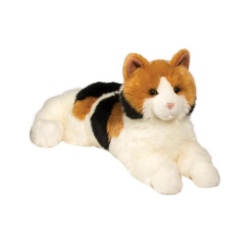 Douglas Toys Puzzle Calico Cat Stuffed Animal Calico
