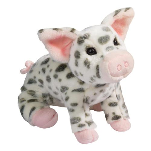 Douglas Toys Pauline Spotted Pig, Large Stuffed Animal