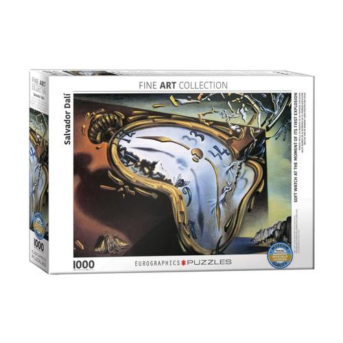EuroGraphics Soft Watch at Moment of First Explosion by Salvador Dali 1,000-Piece Jigsaw Puzzle