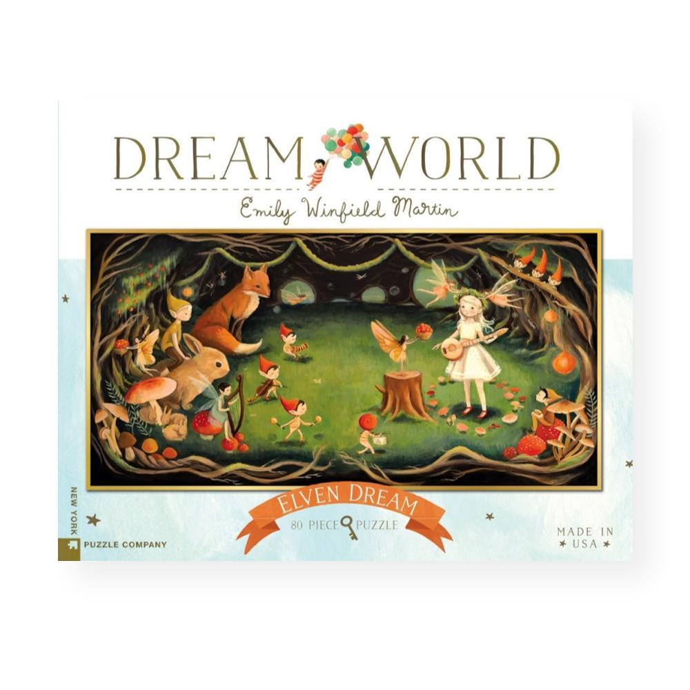 New York Puzzle Company Dream World Elven Dream Jigsaw Puzzle 80PC